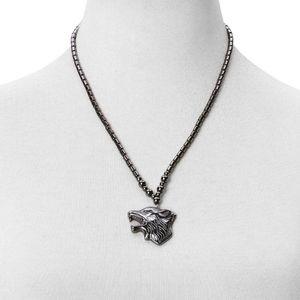 Jewelry - Wolf Hematite Necklace